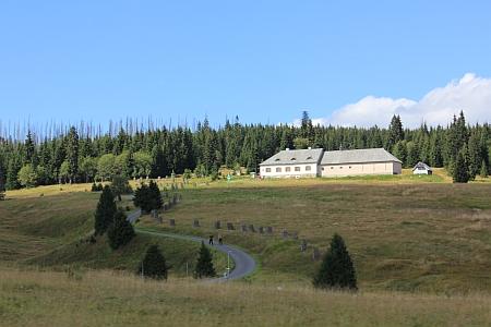 Hájovna na Březníku, kde sloužil a kde je dnes expozice významných osobností z doby Karla Klostermanna, jehož román Ze světa lesních samot se tady odehrává