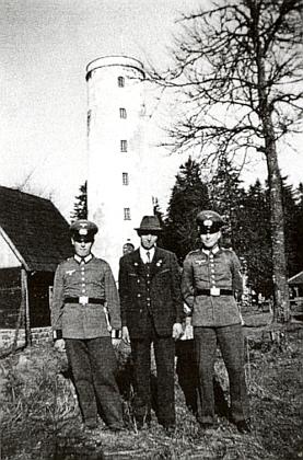 Tři bratři Schimové na Libíně, on je ten nejstarší z nich