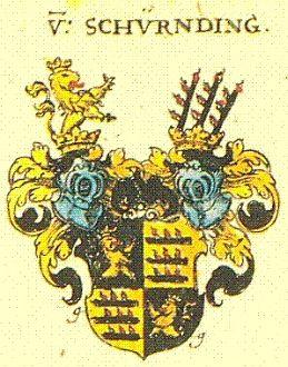 Znak hraběcího rodu Schirdingů