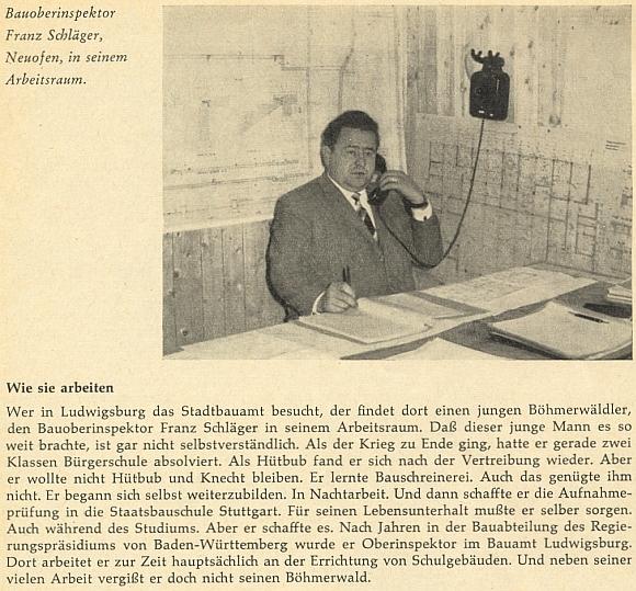 V mladších letech na snímku ve své inženýrské kanceláři