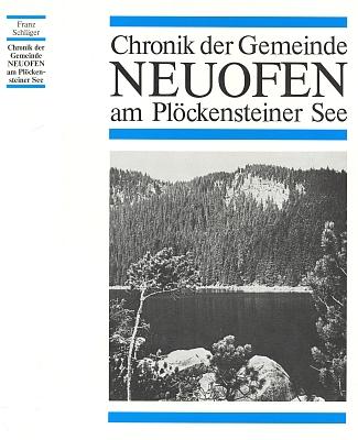 Obálka jeho knihy (1986) vydané Heimatgemeinde Neuofen