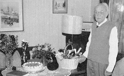 Stačil ještě několik měsíců před svou smrtí oslavit v Mnichově 99. narozeniny