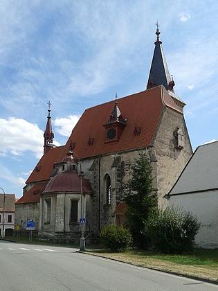 Kostel sv. Maří Magdaleny ve Chvalšinách