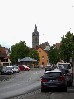 Hallstadt u Bambergu, kde žila po odsunu
