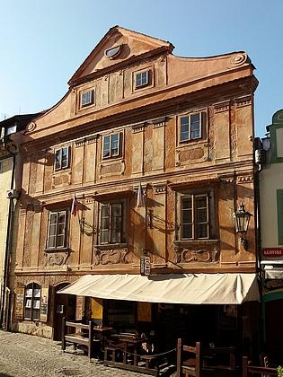 Dům čp. 66 v dnešní českokrumlovské Kájovské ulici