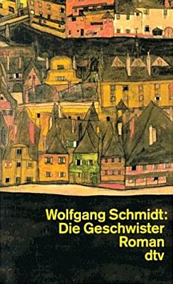 """Obálka (1996) paperbackového vydání jeho románu """"Die Geschwister"""" vproslulé edici """"dtv"""" v Mnichově s použitím malby Egona Schieleho"""