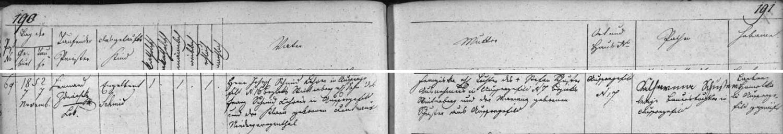 Jeho otec Engelbert Schmid se podle zápisu v křestní matrice farní obce Kvilda narodil 7. listopadu roku 1852 v rodině zdejšího učitele Josefa Schmida (i jeho otec Franz Schmid tady působil jako učitel, matka Klara pocházela ze zaniklého Dolního Jiřetína na Mostecku) a jeho ženy Franzisky, dcery Stefana Schustera a jeho ženy Mariany, roz. Schusterové, obou tady z Kvildy