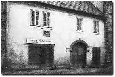 Rodný dům čp. 194 v dnešní Benešove ulici ve Stříbře