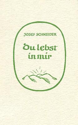Obálka knihy (1970) vydané v Mnichově nakladatelstvím Aufstieg