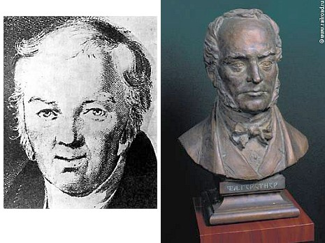 Podobizny Franze Josefa a Franze Antona Gerstnerových