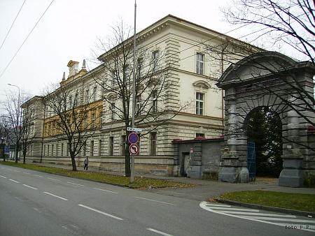 Bývalá zeměbranecká kasárna v Českých Budějovicích