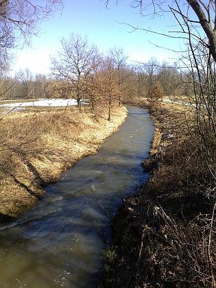 Dehtářský potok u Bavorovic