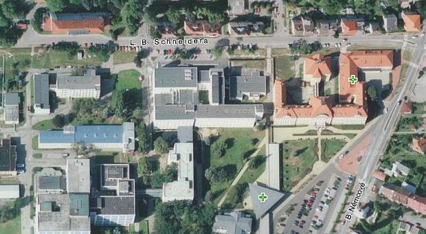 Město České Budějovice pojmenovalo po něm jednu ze svých ulic u zdejší nemocnice