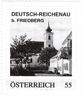 Rychnůvek na rakouské poštovní známce