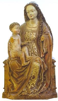Do Alšovy jihočeské galerie byla socha odvezena roku 1958 už poničená z cetvinského kostela, který byl jinak z větší části beztrestně vykraden