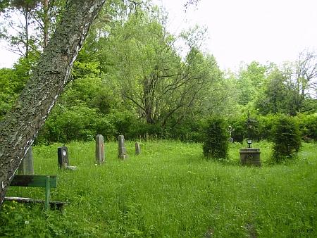 Cetvinský hřbitov na snímku z roku 2013