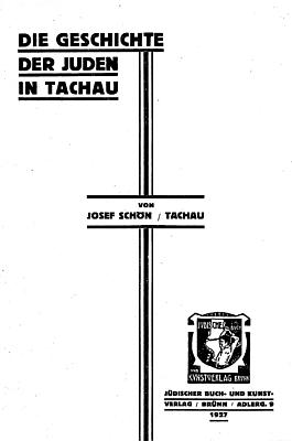 Obálka a titulní list (1927) jeho knihy
