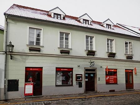 Rodný dům čp. 81 na českokrumlovském Latráně na snímku z roku 2018