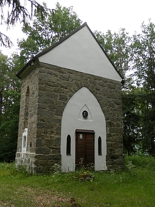 Kaple na Křížovém vrchu dnes (2018)
