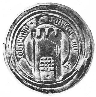 Pečeť městečka Horní Dvořiště z roku 1672 nese německý nápis Oberhaid