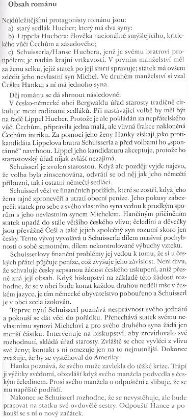 Děj jeho románu In falschen Geleisen