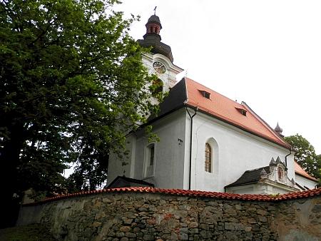 Kostel svatého Michaela archanděla v rodném Horním Dvořišti