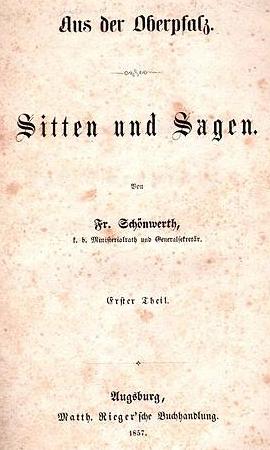 Titulní list (1857) prvního dílu jeho národopisné sbírky