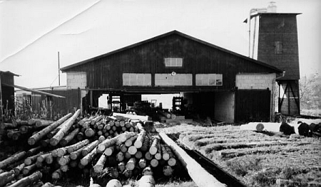 Pila v bádensko-württemberském Mudau, kterou Karl Schröpfer se svými syny založil v roce 1959