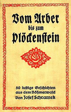 Obálka knihy (1928) vydané v Mnichově (nakladatelství G.J. Manz)