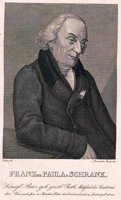 Na rytině Friedricha Rossmäßtera z roku 1831