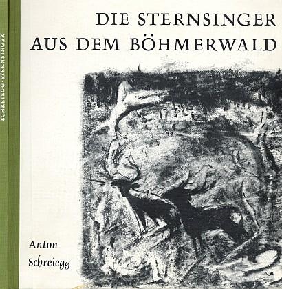 Obálka (1966) jeho knihy z nakladatelství Lassleben v Kallmünz s věnováním a podpisem