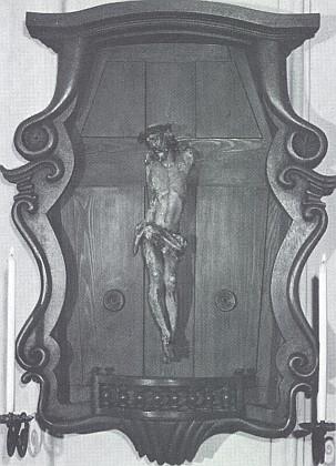 6. února 1951 našli němečtí celníci na hranici s Československem tuto bezrukou Kristovu figuru, pověšenou s oprátkou na krku na hraniční závoře: donesena na faru ve Waldsassen, stala se pak v tamním klášterním kostele předmětem zbožné úcty