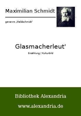 Obálka digitálního vydání Waldschmidtova románu Glasmacherleut