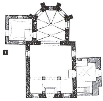 Půdorys kostela