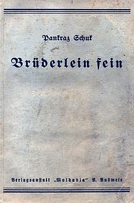 Obálka (1920) románu o Therese Kronesové (o písni Brüderlein fein viz Josef Drechsler)