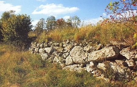 Původní cesta z někdejšího Rychnůvku do také zaniklých Jasánek...