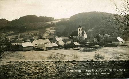 Rychnůvek, pohlednice, foto Josef Wolf (viz i Eduard Prieschl)