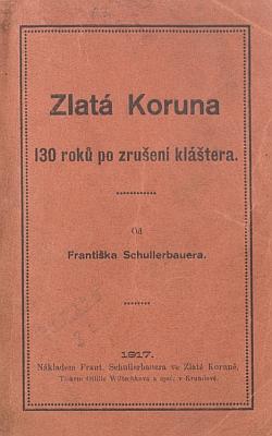Obálky německého a českého vydání jeho knihy (1917)