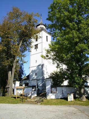 Kostel sv. Víta ve Zbytinách v roce 2011