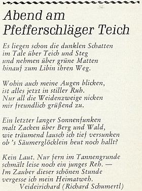 """Tady se pod jednou ze svých básní """"po chalupě"""" podepsal """"Veiderichard"""""""