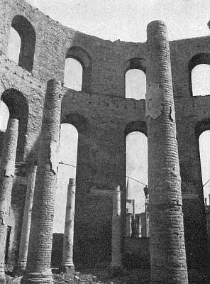 Ruiny Paulskirche 1945