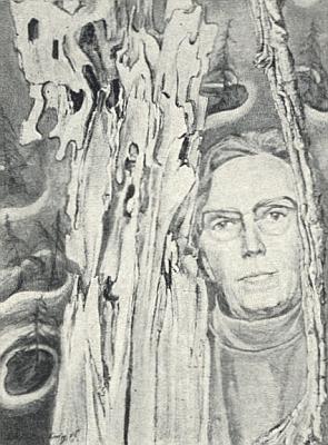 Autoportrét jeho ženy