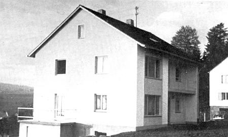 Domek ve Freyungu na snímku z roku 1958
