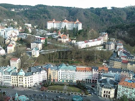 Karlovy Vary, kde zemřel