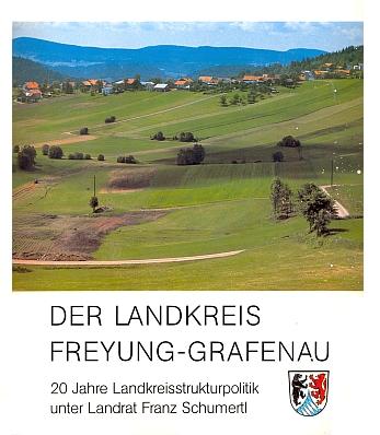 Obálka (1990) pamětní publikace, věnované dvacetiletí jeho politické práce pro zemský okres Freyung-Grafenau