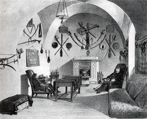 V salonu jeho sídla Marianka ho zachytil malíř Johann Joseph Rauch někdy kolem roku 1860 na obraze, jehož barevný origimál se nachází rovněž ve sbírkách orlického zámku