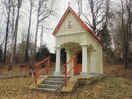 Kaple sv. Floriana na Tillyho šancích, která je vlastnictvím městyse Eslarn blízko Železné