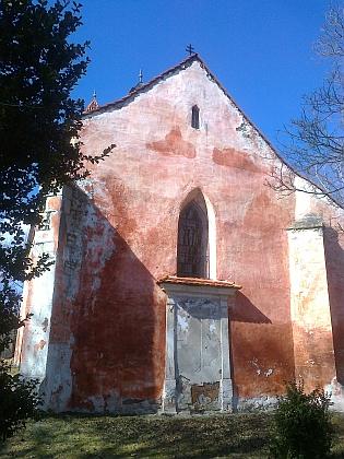 Boletický kostel v roce 2017
