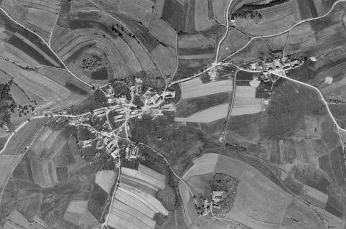 Boletice a Dolany na leteckých snímcích z let 1947 a 2008