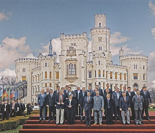 Neformální zasedání ministrů zahraničních věcí členských států EU se konalo na zámku Hluboká pod jeho vedením 27.-28. března roku 2009